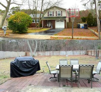 Toms River NJ Single Family Home For Sale: $230,000