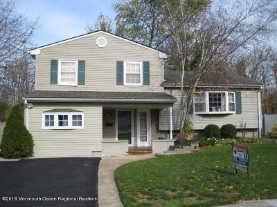 Hazlet Single Family Home Under Contract: 10 Craig Street