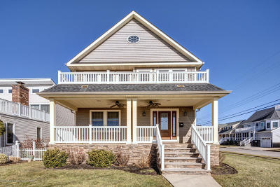 Avon-by-the-sea, Belmar Single Family Home For Sale: 200 North Boulevard