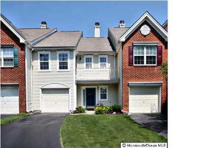Holmdel Condo/Townhouse Under Contract: 5 Painted Wagon Road