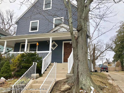 Asbury Park Single Family Home Under Contract: 819 Central Avenue