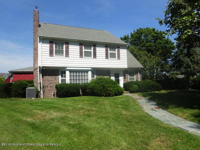 Belmar Single Family Home Under Contract: 125 Inlet Terrace