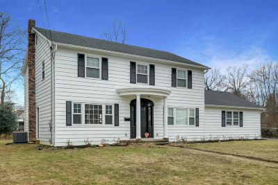 Long Branch Single Family Home For Sale: 578 Monmouth Place