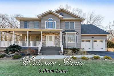 Holmdel Single Family Home Under Contract: 5 Plum Lane