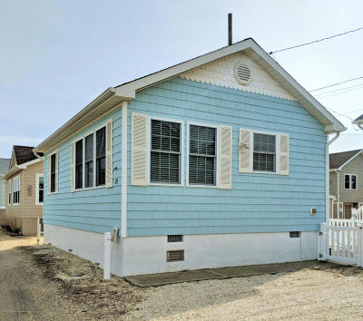 Lavallette Single Family Home Under Contract: 123 W Swordfish Way