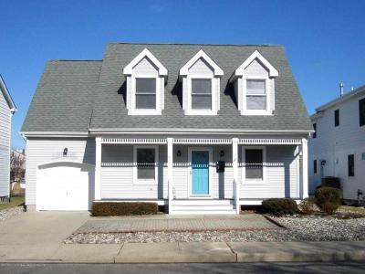 Bradley Beach Single Family Home For Sale: 402 Lake Terrace
