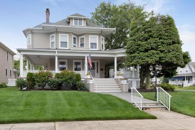 Avon-by-the-sea, Belmar Single Family Home For Sale: 200 Woodland Avenue