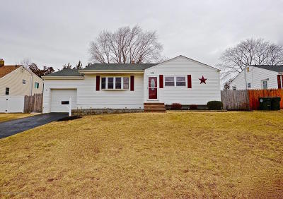 Hazlet Single Family Home Under Contract: 15 Parkview Drive
