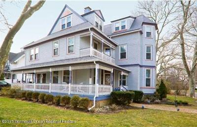 Monmouth Beach Single Family Home For Sale: 8 Club Circle