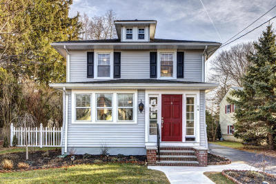 Red Bank Single Family Home For Sale: 54 Madison Avenue