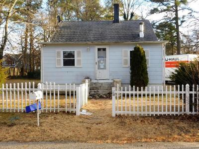 Toms River NJ Single Family Home Under Contract: $109,900