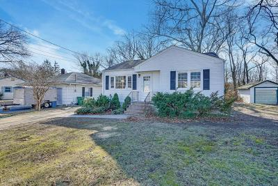 Neptune Township Single Family Home Under Contract: 308 Lakewood Road