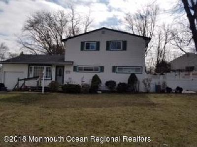 Neptune Township Single Family Home For Sale: 12 Jeanne Drive