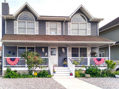 Seaside Heights Single Family Home For Sale: 9 6th Avenue