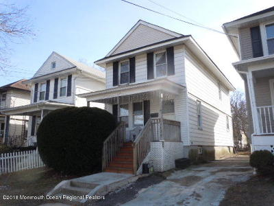 Asbury Park Single Family Home Under Contract: 1126 1st Avenue