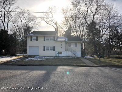 Neptune City, Neptune Township Single Family Home For Sale: 25 Manor Drive