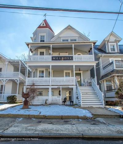 Ocean Grove Single Family Home For Sale: 34 Seaview Avenue
