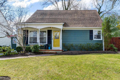 Neptune Township Single Family Home Under Contract: 410 Woodmere Avenue