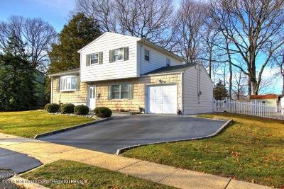Hazlet Single Family Home Under Contract: 8 Adam Place