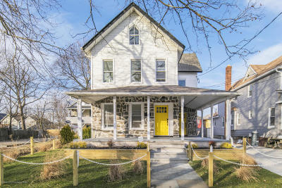 Asbury Park Single Family Home For Sale: 1027 Summerfield Avenue