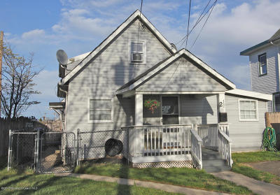 Neptune Township NJ Single Family Home Under Contract: $210,000