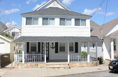 Bradley Beach Single Family Home For Sale: 109 Kent Avenue