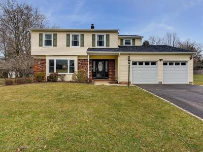 Freehold Single Family Home Under Contract: 31 Nathan Hale Drive