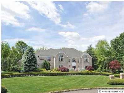 Colts Neck Single Family Home Under Contract: 9 Round Hill Court