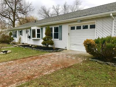 Neptune Township Single Family Home Under Contract: 19 Spray Boulevard