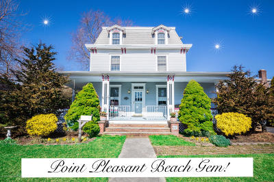 Point Pleasant Beach Single Family Home Under Contract: 607 Forman Avenue