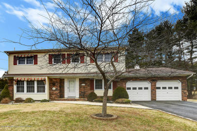 Freehold Single Family Home For Sale: 113 Three Brooks Road