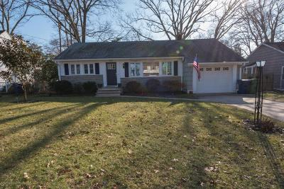 Neptune Township Single Family Home Under Contract: 442 Lakewood Road
