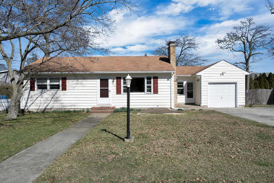 Island Heights Single Family Home Under Contract: 253 Dirmitt