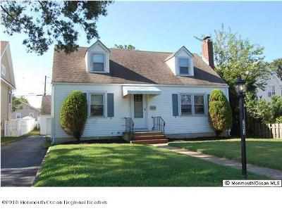 Point Pleasant Beach Single Family Home For Sale: 202 Niblick Street