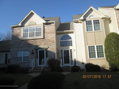 Holmdel Condo/Townhouse Under Contract: 160 Yarmouth Court