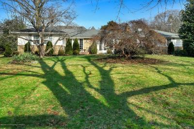 Little Silver Single Family Home For Sale: 411 Rumson Road