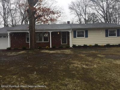 Toms River Single Family Home Sold: 1027 Onyx Drive
