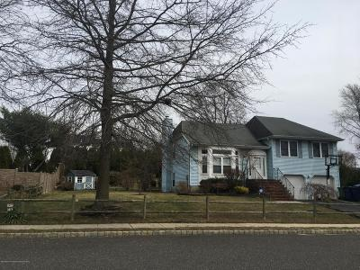 Neptune Township Single Family Home Under Contract: 518 Woolley Drive