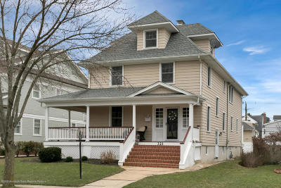 Avon-by-the-sea, Belmar Single Family Home Under Contract: 321 Woodland Avenue