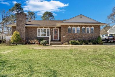 Point Pleasant Single Family Home Under Contract: 3812 River Road