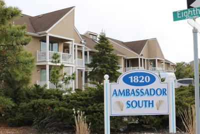 Seaside Heights Condo/Townhouse For Sale: 1820 Pennsylvania Avenue #4