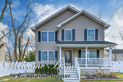 Eatontown Single Family Home For Sale: 56 Richardson Avenue