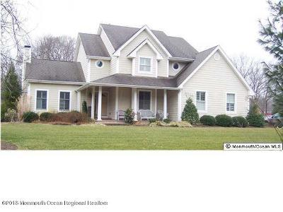 Wall Single Family Home For Sale: 3417 W Hurley Pond Road