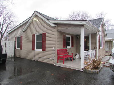 Long Branch Single Family Home For Sale: 174 Cherry Street