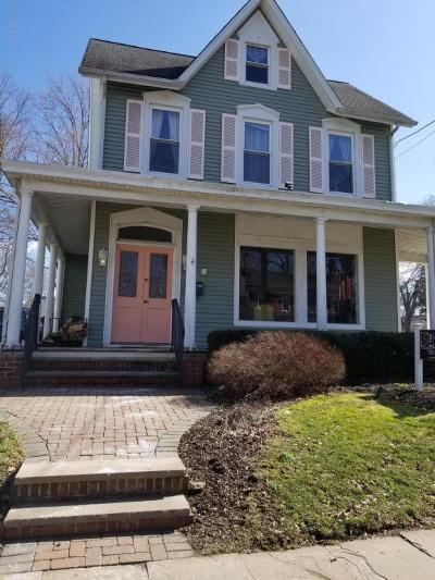 Freehold Single Family Home For Sale: 104 W Main Street