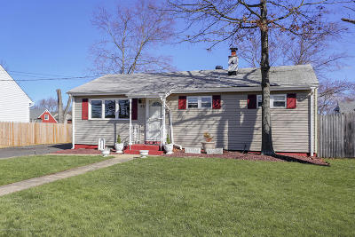 Hazlet Single Family Home For Sale: 271 Middle Road