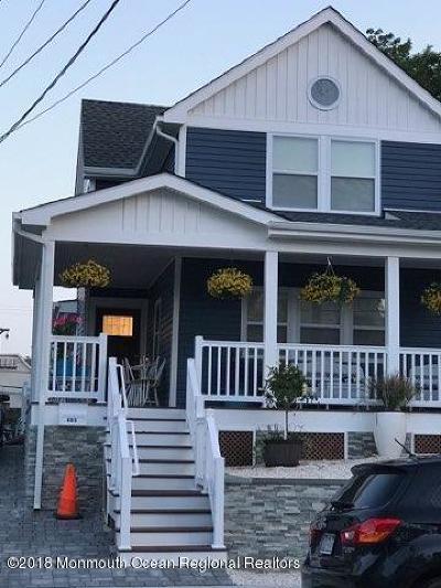 Bradley Beach Rental For Rent: 405 Newark Avenue