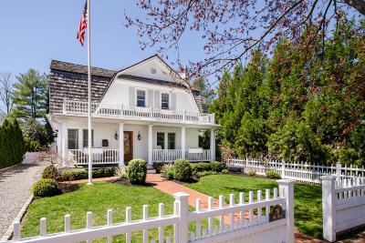 Monmouth County Single Family Home Under Contract: 76 Fair Haven Road
