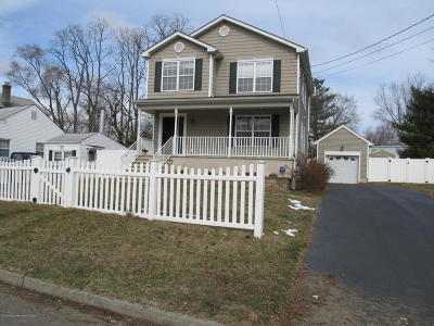 Monmouth County Single Family Home Under Contract: 73 Pear Street