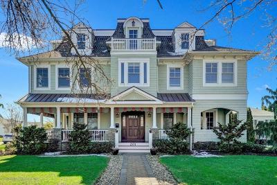 Spring Lake Single Family Home For Sale: 201 Atlantic Avenue